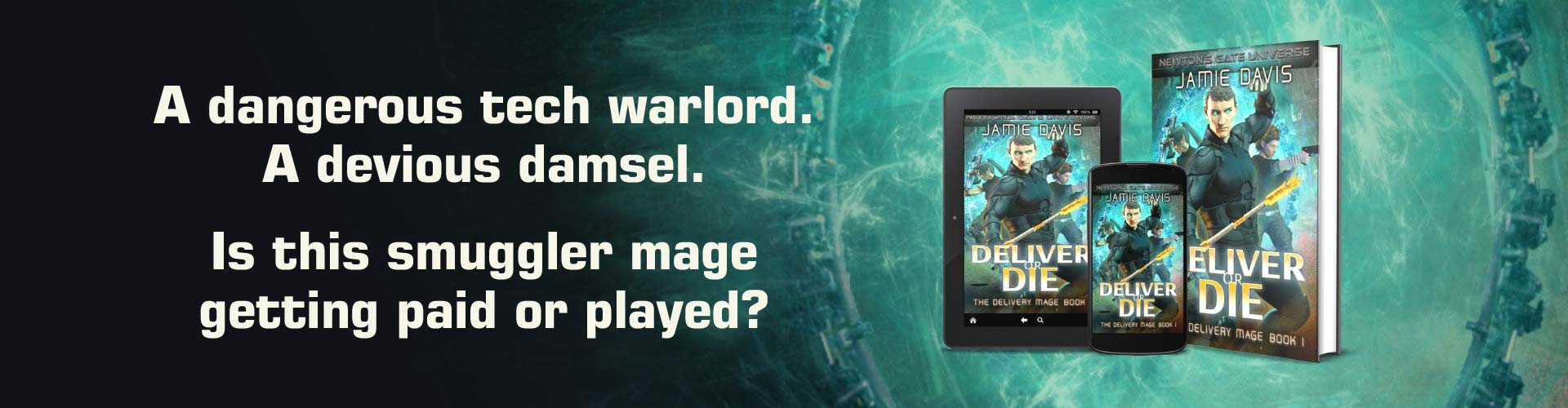 The Delivery Mage Portal Urban Fantasy Series
