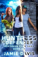 Huntress Defender book cover