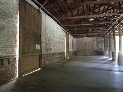 Inside view of barn - Spanish Moss Trail