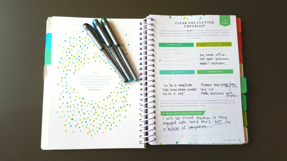 Clear the Clutter Goals
