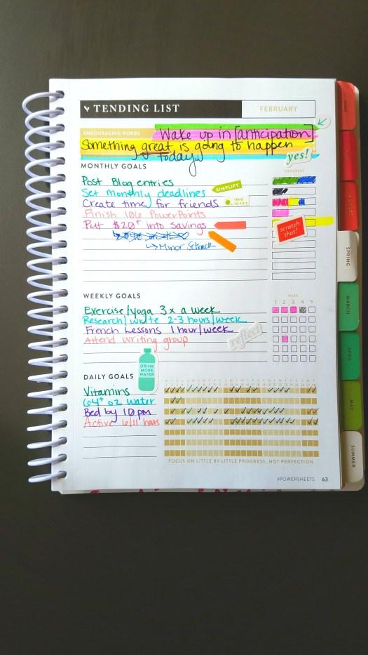 February Goals Recap