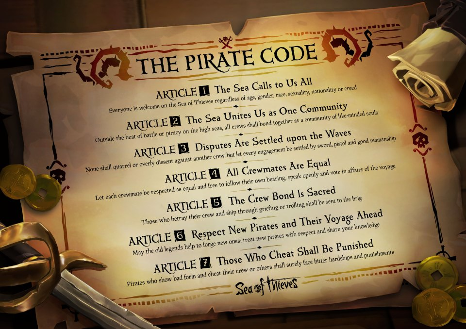 Pirate Codes