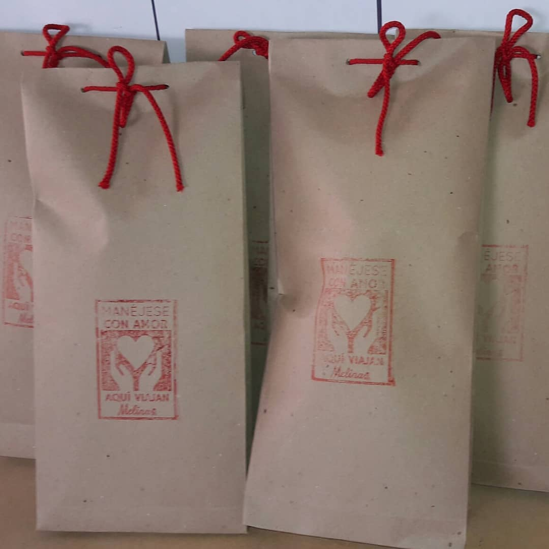 Melinas body positive personalized dolls packaging with logo