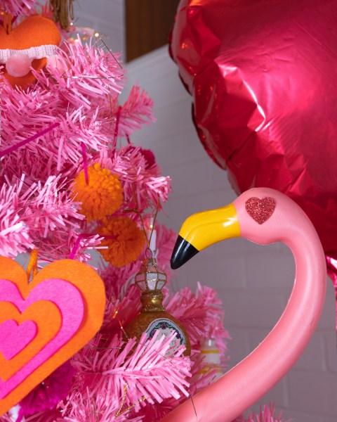 Valentine Flamingo