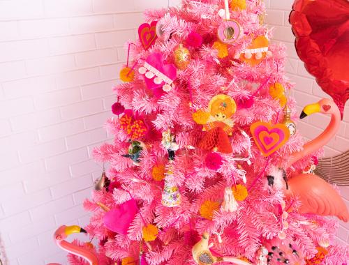 Valentine's Day Tree Pink