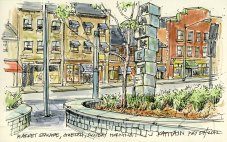 'Market Square, Guelph' by Jamie Kapitain.