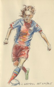'Soccer Player' (2015) by Jamie Kapitain