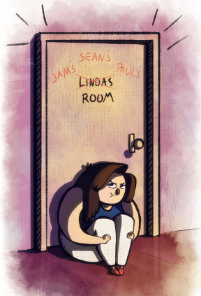 Linda Gets Locked Out
