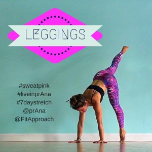 prana leggings sweatpink