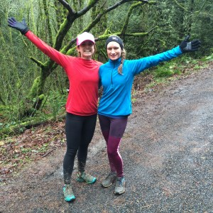 running Wildwood trail in Portland
