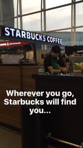 Hong Kong Starbucks