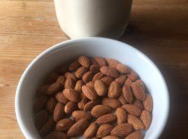 almond milk recipes