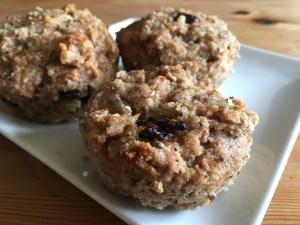 almond pulp muffins