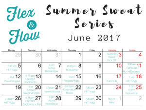Summer Sweat Series - Flex & Flow