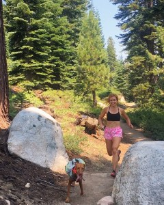 Lake Tahoe trail running
