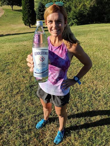 Hydration for runners Gerolsteiner