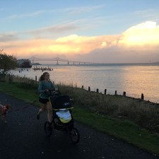 Bob Blaze jogging stroller