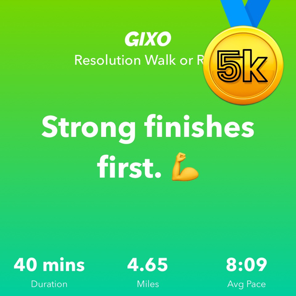 Gixo Resolution Run