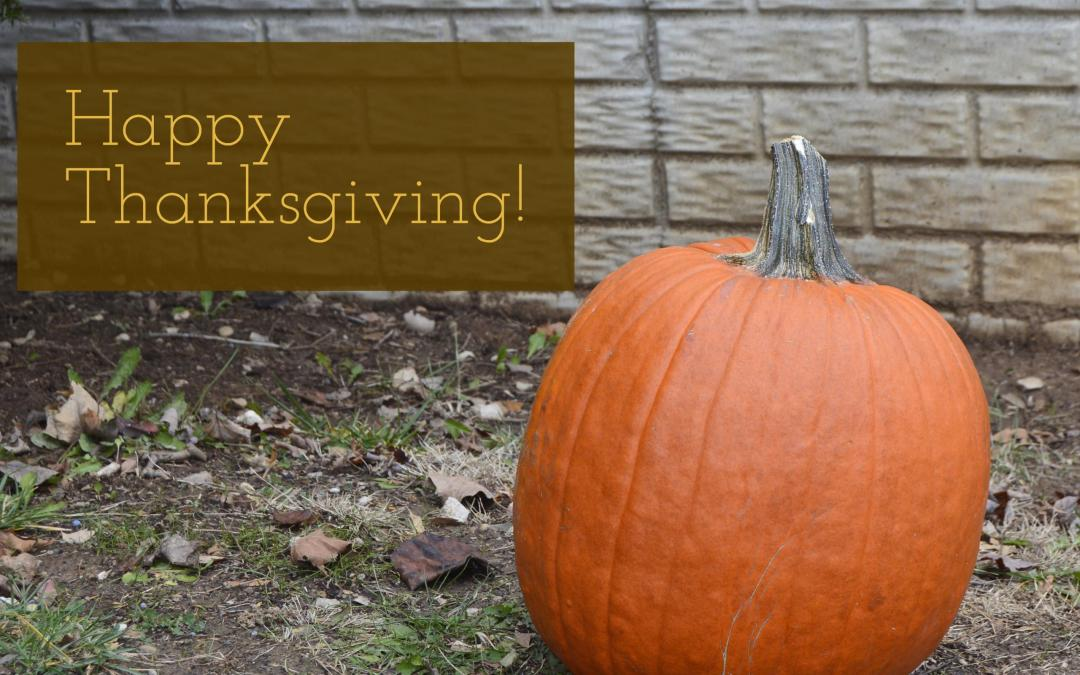 Happy Thanksgiving! – 12.2.16