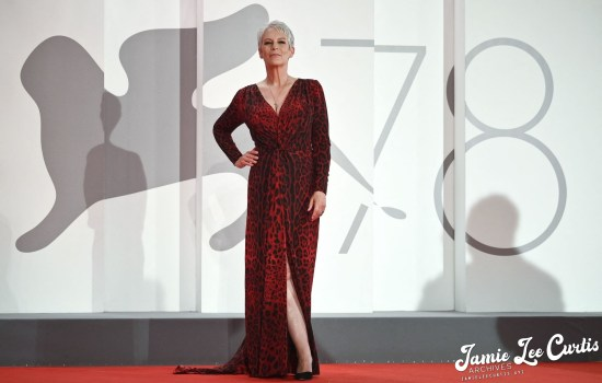 Jamie Lee Curtis at the 78th Annual Venice Film Festival