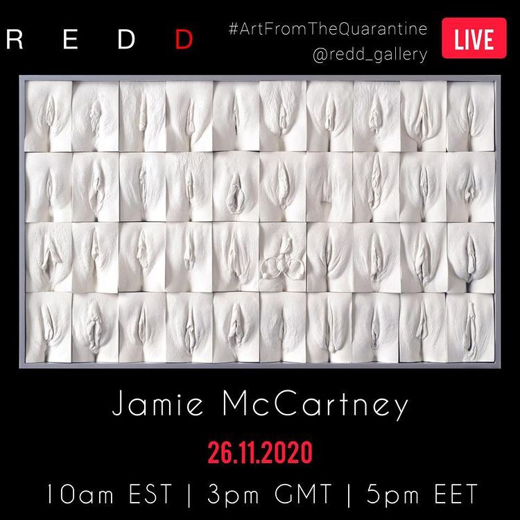 Poster for Jamie McCartney Redd PR interview