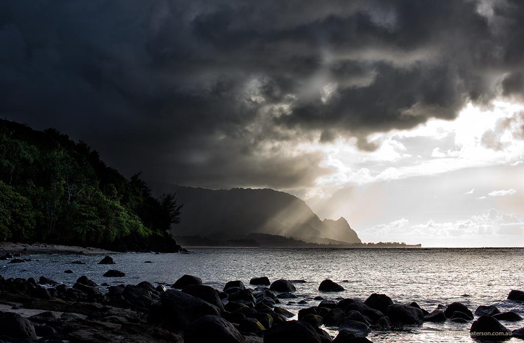hawaiian beaches, kauai photography, seascape photography