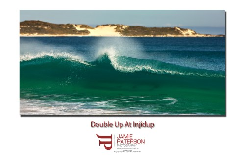 Injidup Point Beach Waves Surf Australian Landscape Photography