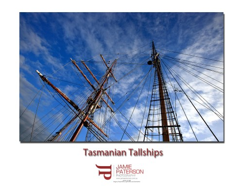 Tasmanian Tall Ship Masts
