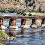 Train Trestle Bridge Creed Colorado