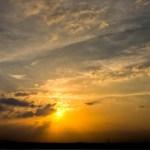 Sunset East of San Angelo Texas - 3