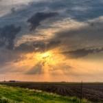 Sunset East of San Angelo Texas