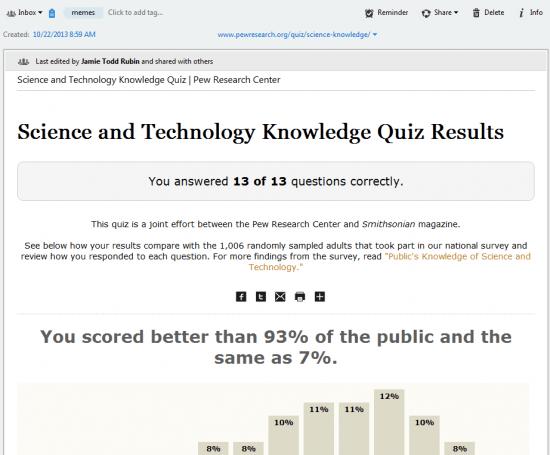 Quiz Results