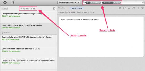 Search Results Mac