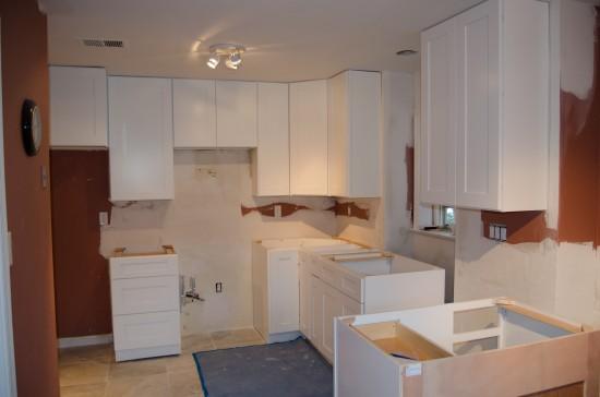 Kitchen Remodel West 1, Day 11