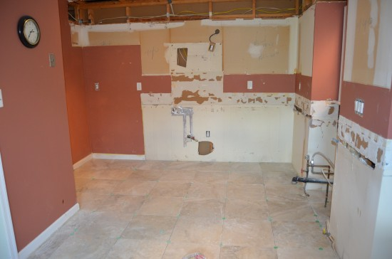 Kitchen Remodel West 2, Day 4