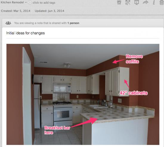 Kitchen Changes