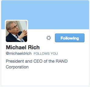 Michael Rich on Twitter