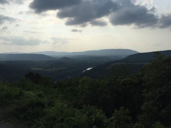 Panorama at the Peak