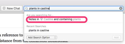 Descriptive Search