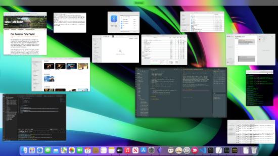 My cluttered desktop