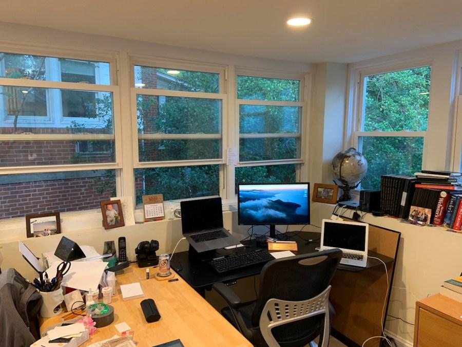 windows open in my office
