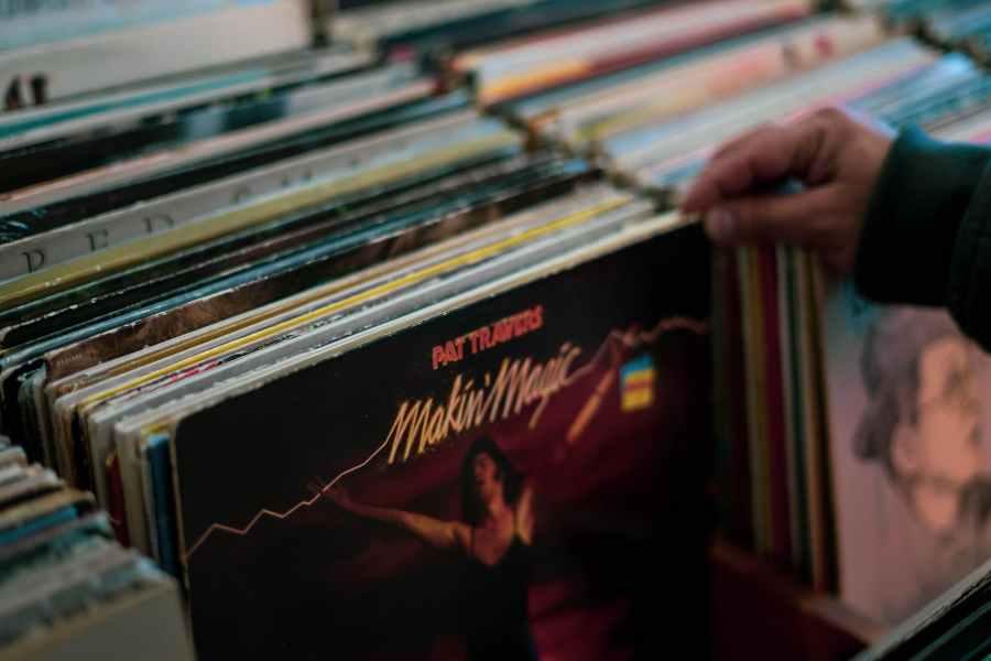 makin magic album sleeve