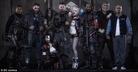 Suicide Squad line up
