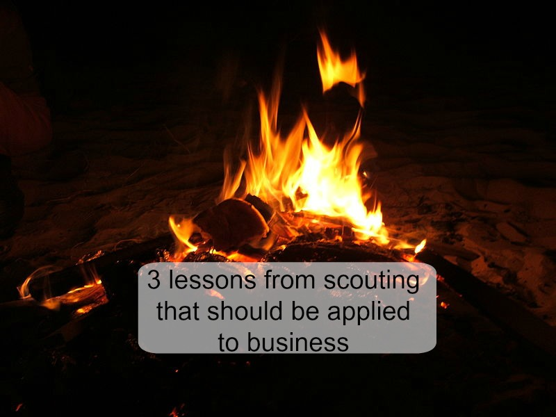 3 lessons from scouting that should be applied to business
