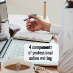 Four tips for making your online writing successful