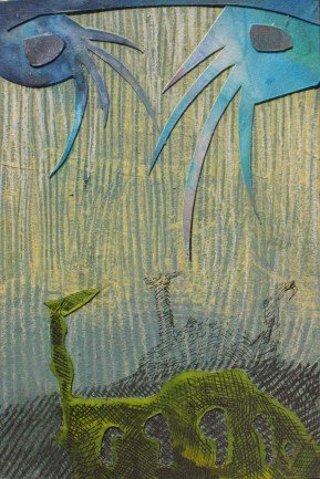 """Examining the Early Waters, 18 of 30 4"""" x 6"""""""