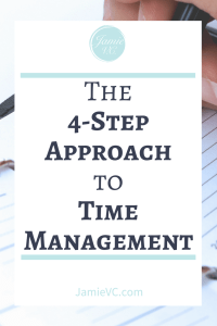 As a business owner, you usually are doing more than running a company. The best way to combat the feeling overwhelm is to start a time management practice.