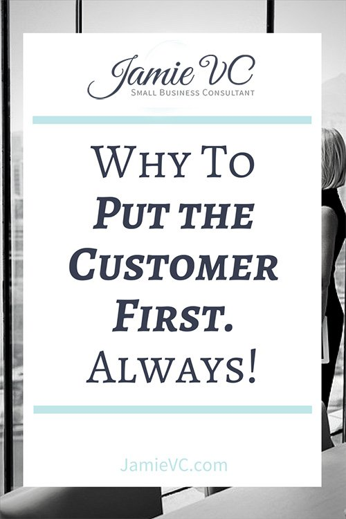 The Entrepreneurship and Leadership Series: Part 2 - Why to put your customer first. As a business owner, you owe your customers everything. To truly be successful, you always need to put your customer first with your business decision and guide them through change.
