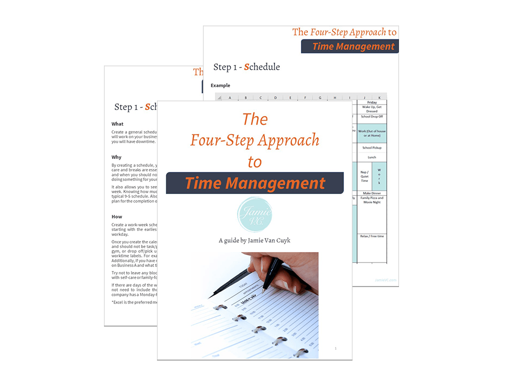 The Four Step Approach to Time Management Image Preview
