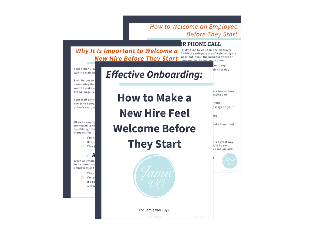 Effective Onboarding: How to Make a New Hire Feel Welcome Before They Start